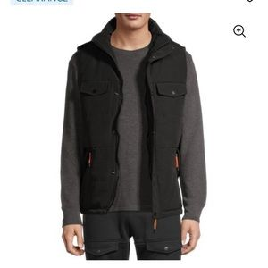 Men's Large Vest Multi-Pocket NET AMERICAN STITCH